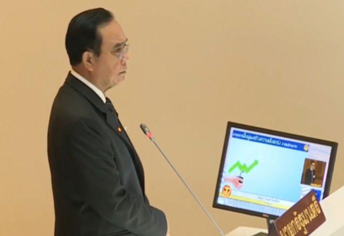 Prime Minister Prayuth Chan-o-cha.