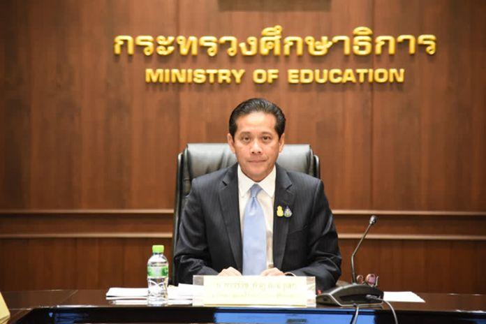 Mr. Varavij Kambhu Na Ayudhaya, Advisor to the Minister of Education.