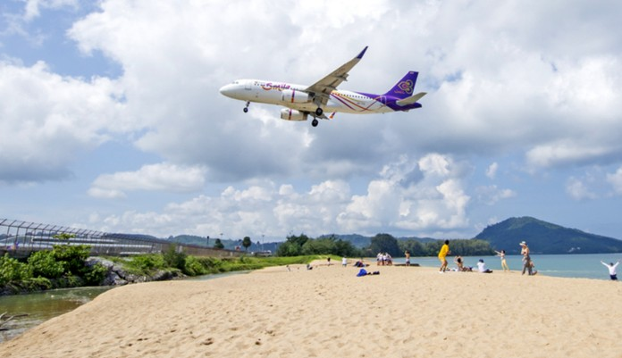 Phuket airport resumed operations on June 13, a ban on inbound passenger flights will remain valid until 11.59 pm on June 30.