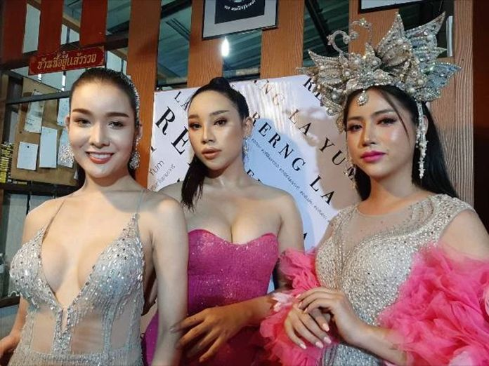 Transgender cabaret performers in Chiang Mai haven't been able to strut around on stage for almost four months due to COVID-19