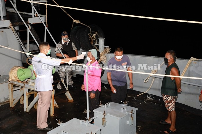 The boat caption and sailors said they were hired to carry the illegal petrol from Samut Prakran province near Bangkok to an undisclosed destination.