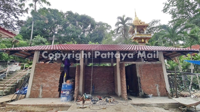 They also repaired restrooms and installed mosquito netting at Keereepavanaram Temple.