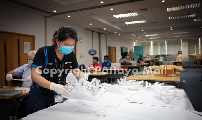 AMCHAM member companies like Ford Motor Company have pivoted their services to manufacture Protective Personal Equipment (PPE) to meet the urgent need of medical supplies for medical workers, those on the frontline and people fighting coronavirus. (Photo Courtesy Ford Motor Company)
