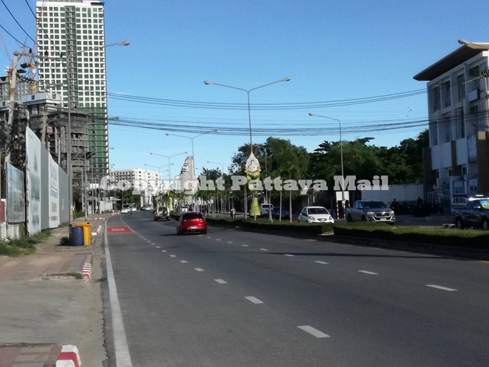 Major construction is set to begin to lay larger drainage pipes under Jomtien Second Road.