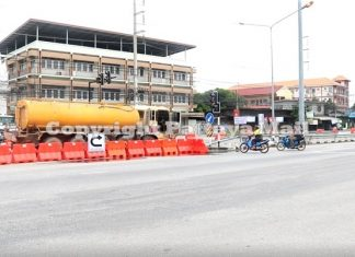 Motorbikes, however, are cutting through barriers to make illegal and dangerous crossings. One accident already has occurred, a subdistrict official said.
