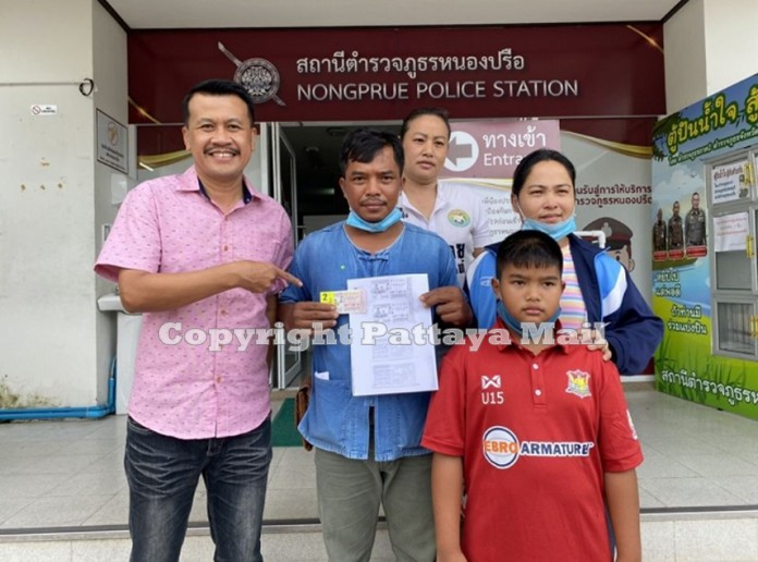 Buriram-native Nipon Sangam working as a mahout in Pattaya won an elephant-size jackpot in Thursday's government lottery drawing, cashing in tickets for 12 million baht in prize money.
