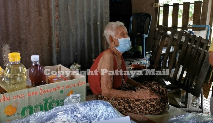 Grandma Yasothin asked for a small house built beside her son's house because she feels lonely.