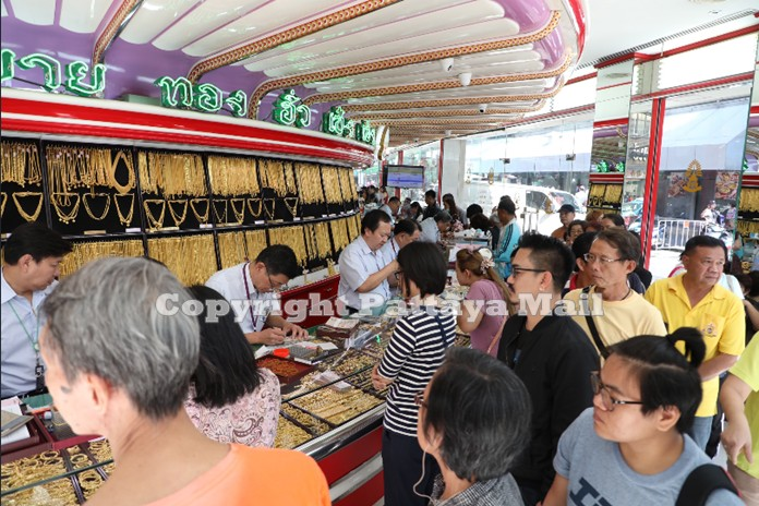 Gold shops were packed with people selling their gold possessions at record breaking prices.