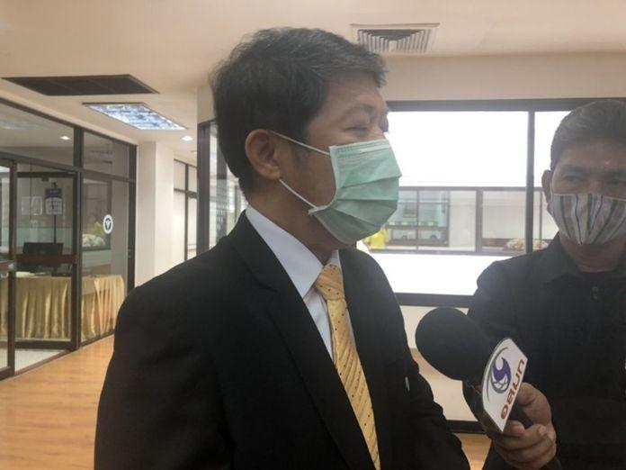 Director-General of the Disease Control Department, Dr. Suwanchai Wattanayingcharoenchai.