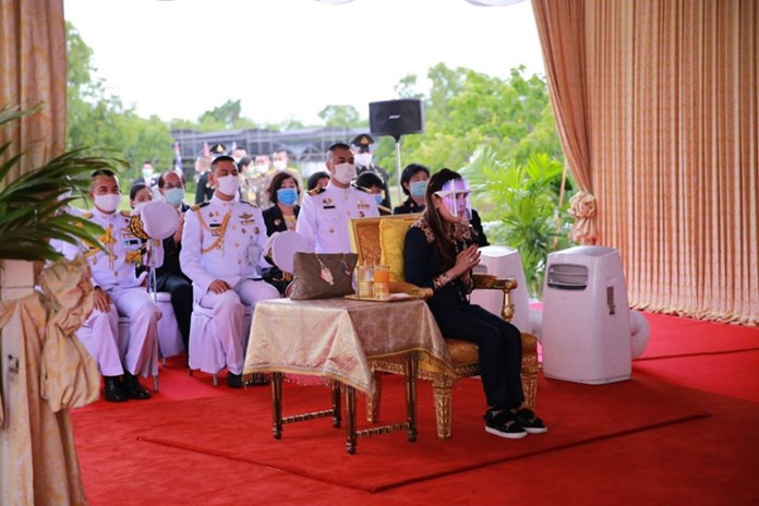 The facility was initiated by Her Royal Highness in a project carried out by Chulabhorn Royal Academy (CRA) with the intent of providing access to cancer medication to those in need.