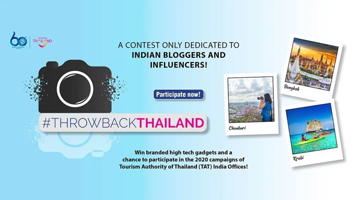 Five #ThrowbackThailand online contest winners take home new GoPro Hero 8 Sports and Action Cameras for next Thailand trip.