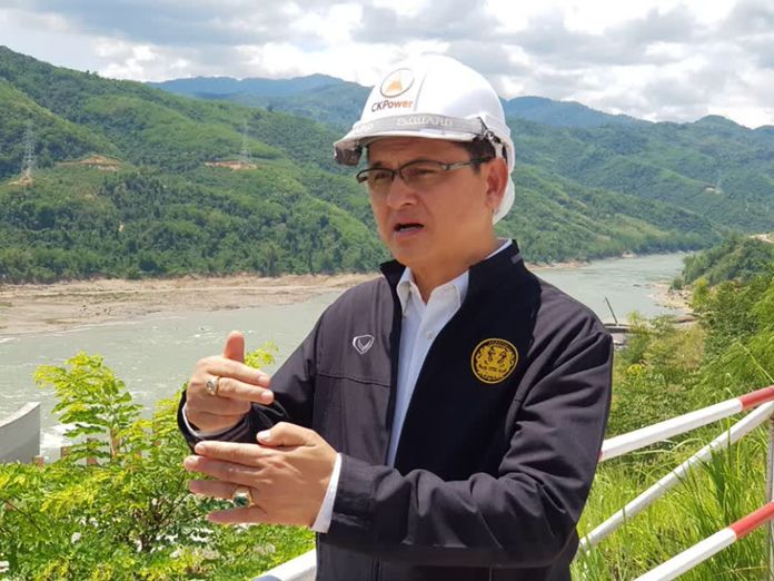 Mr. Somkiat Prajamwong, Secretary-General of the Office of the National Water Resources (ONWR).