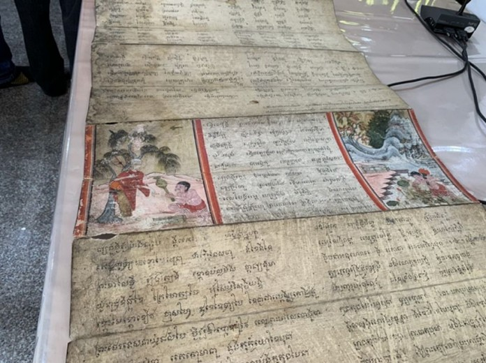 The recovered manuscripts are in perfect condition.