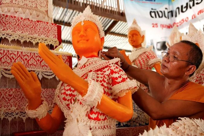 Unique seasonal tradition moves online to mark start of Buddhist Lent.