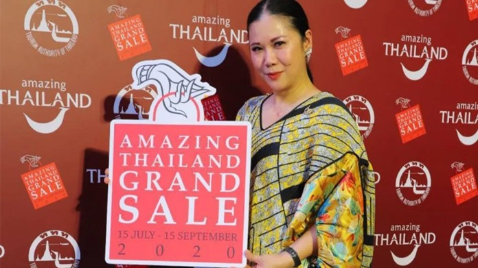 'Amazing Thailand Grand Sale 2020: NON STOP SHOPPING' discounts are available for two months from July 15 to Sept 15 to stimulate spending among Thai people and expatriates.