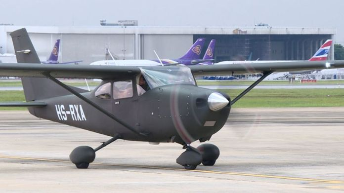 The versatile aircrafts can be used in various works such as patrolling, forest conservation, and drug suppression.