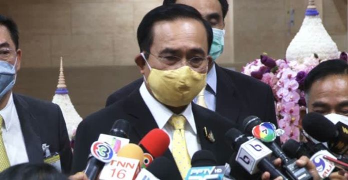 Prime Minister Gen Prayut Chan-o-cha is concerned about the Travel Bubble scheme planned to allow limited resumption of international travel to and from countries where a bilateral agreement is made.