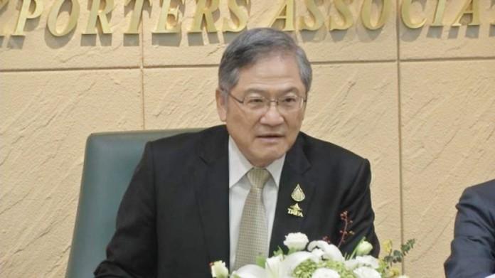 Pol Lt. Charoen Laothamatas, President of the Thai Rice Exporters Association.