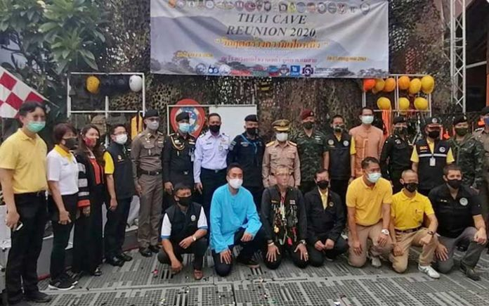 A Reunion Day, the Event of Tham Luang 2020, marks the second anniversary of the high-profile Tham Luang cave rescue mission in the northern province of Chiang Rai.
