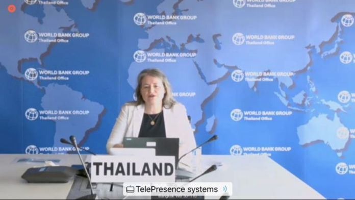 Birgit Hansl, the World Bank Country Manager for Thailand.