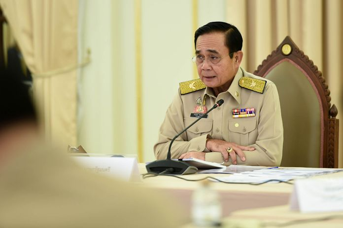 Prime Minister and Defense Minister, Gen. Prayut Chan-o-cha.