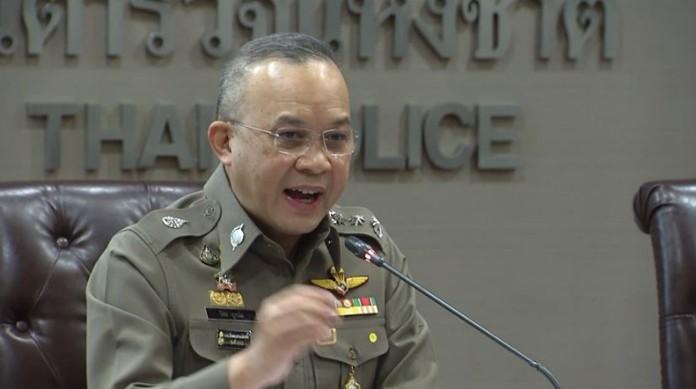 Pol Lt Gen Piya Uthayo, Spokesman of the Royal Thai Police.