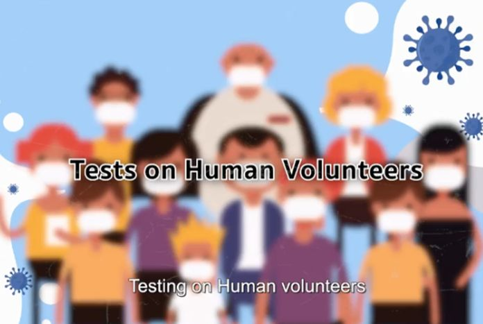 The research center will be looking for volunteers for the human trial between August and September and will inject the first doses in October.