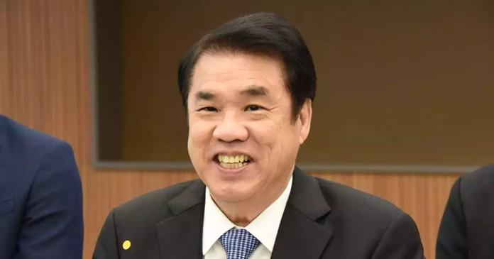 Industry Minister Suriya Juangroongruangkit.