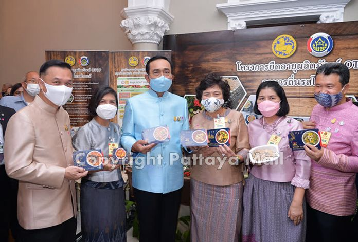 Prime Minister, Gen Prayut Chan-o-cha promoted activities to help farmers and small businesses.