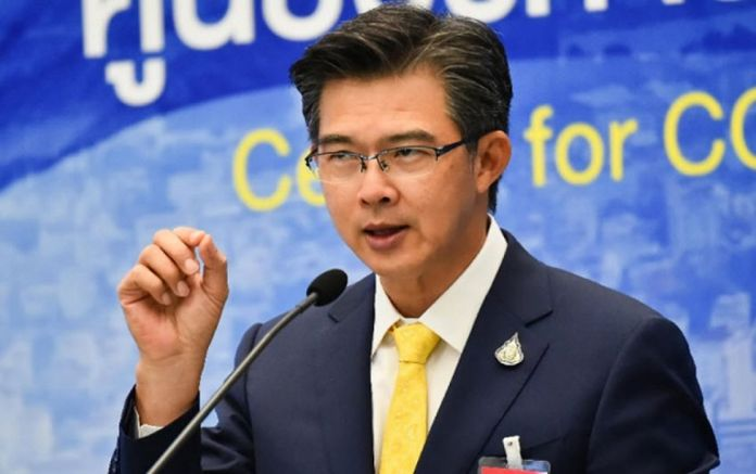 Dr Taweesin Visanuyothin, spokesman of the Center for COVID-19 Situation Administration.
