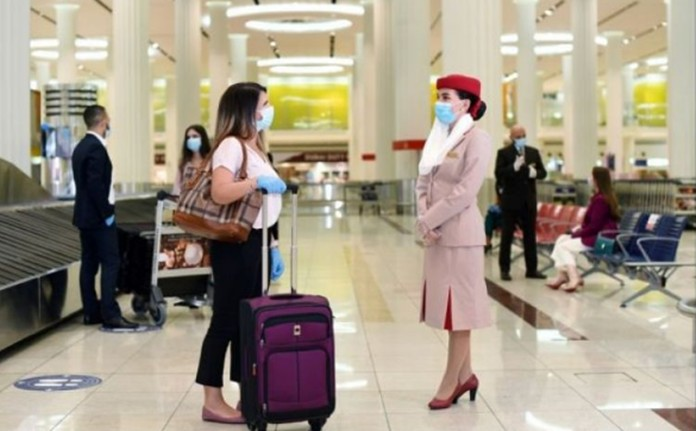 Emirates, the first airline to subsidize the costs of treatment and quarantine for worldwide passengers.