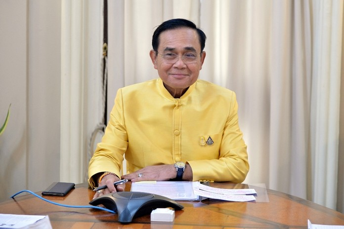 Prime Minister and Defense Minister Gen. Prayut Chan-o-cha.