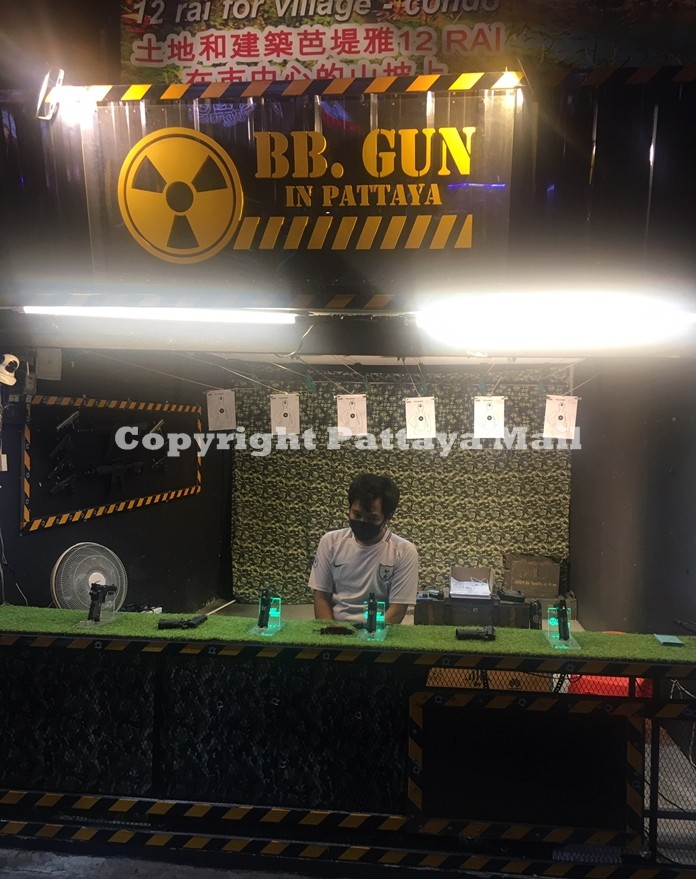 A shooting range is one of the latest ideas to diversify Walking Street.