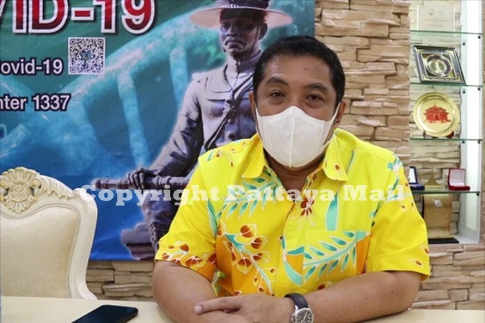 Pattaya Mayor Sonthaya Khunplome admits that only half the CCTV cameras in the city are working, but promises to get 80% of them fixed or replaced by the end of 2021.