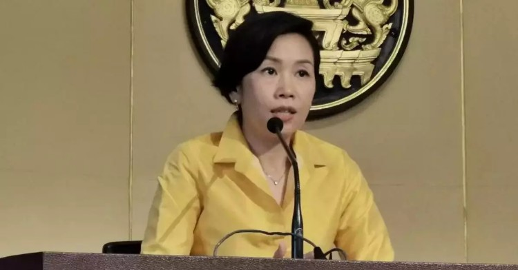 Deputy Government spokesperson, Ratchada Dhnadirek.