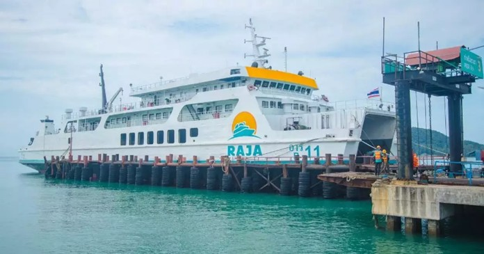 Raja 4 ferry capsized in strong winds and huge waves, about 3-4 metres high, near Koh Si and Koh Ha after it left Ko Samui for about five nautical miles in Koh Samui district, Surat Thani, on Aug 1.