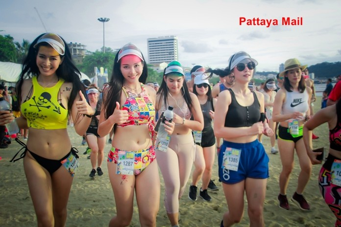 Pattaya tells Bikini Run joggers to cover up before attending Loy Krathong