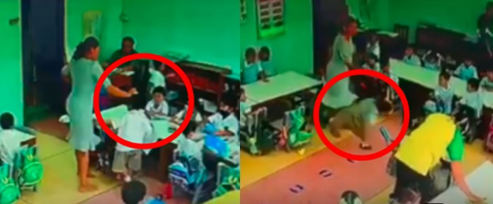 Thai teacher hitting young children to be prosecuted