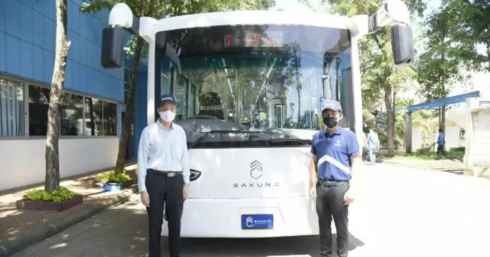 Thailand develops E-buses for Bangkok bus service