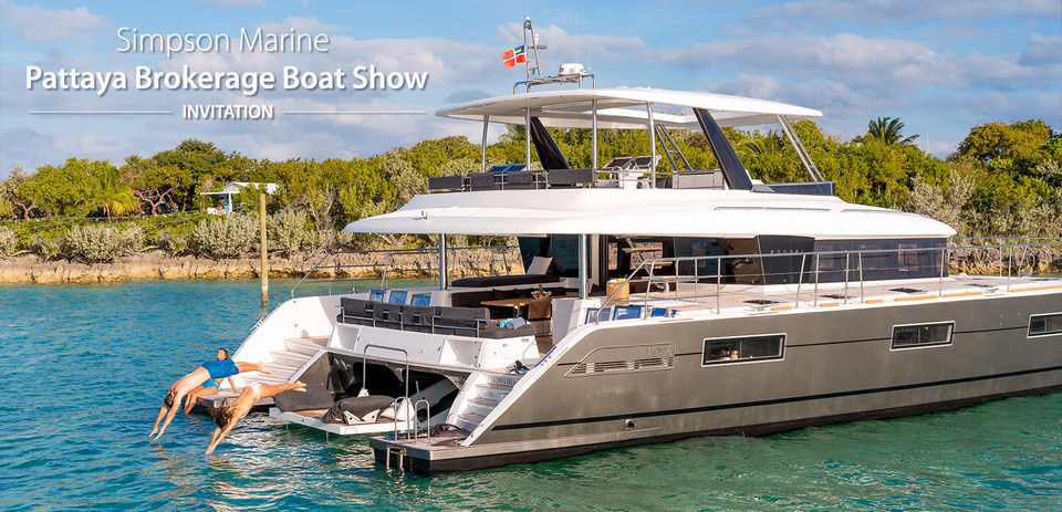 Simpson Marine présente au Pattaya Brokerage Boat Show du 23 au 25 octobre