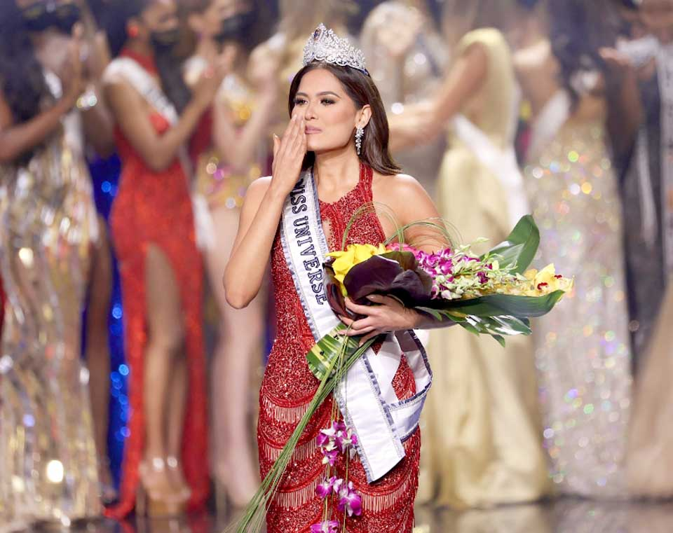 Miss Mexico Andrea Meza crowned Miss Universe 2020 in ...