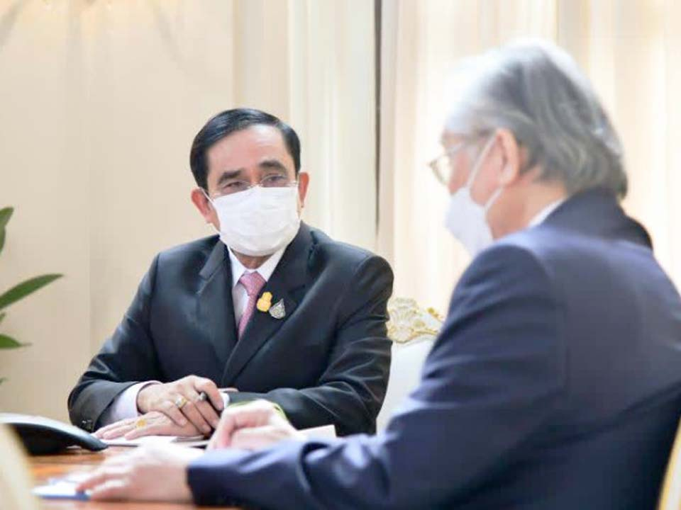 t 11 Thai and Australian Prime Ministers discuss improving the two countries strategic partnership